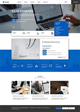 Business-Blue-005-10Page